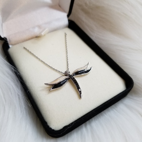 7c70e9a2e Kay Jewelers Jewelry | Dragonfly Necklace | Poshmark